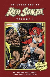 Dig deep into the classic Frank Thorne tales of Red Sonja with the Adventures line, painstakingly remastered  All three volumes are on sale at @comiXology right now!   https://bit.ly/2WKQ4fy pic.twitter.com/N9AW4JyKSU