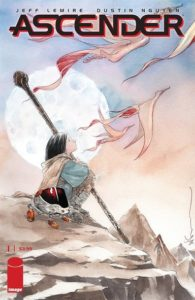 ASCENDER #1—with all the scope and heart of the sci-fi classic DESCENDER, LEMIRE and NGUYEN reunite to take readers on an unforgettable fantasy quest! #NewComicsDay preview:  http://ow.ly/fHpV30ovUYQpic.twitter.com/lRfZDBYrGj