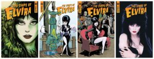SHAPE OF ELVIRA #2  @TheRealElvira discovers that Love Means Never Having to Say You're Soggy, in the second ridiculous issue  Check it out tomorrow!  @DAvallone Fran Strukan Maxim Simic @TaylorEspo @f_francavilla J Bone @kstrahm @davedrawsgoodpic.twitter.com/f4hhVvOGII