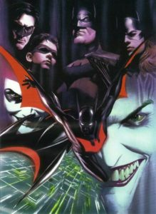 "How great is this classic piece of ""Batman Beyond"" art by Alex Ross? Absolutely stunning.  #BatmanBeyond #Batman #DCAU #Batman80 #LongLiveTheBatpic.twitter.com/CECAzL4xEe"
