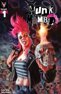 Who is Punk Mambo? Well, she's a voodoo priestess who grew up in London, moved to the Bayou, and is now a mystical mercenary for hire. Now she's off on her own and investigating a series of abduction plaguing the New Orleans punk scene! Order Punk Mambo #1  http://ow.ly/1URE30ovLdbpic.twitter.com/hzFRpe3Wg4
