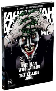 Hitting our shelves this #NCBD!  LEGENDS OF BATMAN: THE MAN WHO LAUGHS and THE KILLING JOKE!  Both books in one hardback volume  FOR JUST €15.99! pic.twitter.com/91yJQXewjr