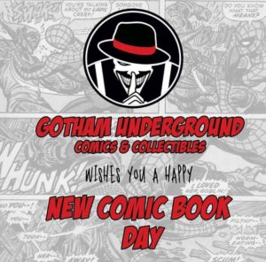 Have a great #newcomicbookday!!#ncbd #comicbooks #indiecomics @marvel @dccomics @imagecomics @darkhorsecomics @ActionLabDanger @AfterShockComix  @ScoutComics @SourcePtPress @OniPress @AntarcticPress @blackboxcomics @madcavestudios @thevaultcomics @AhoyComicMags @ALTERNACOMICSpic.twitter.com/puSrlWzvAO