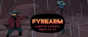 Hey y'all! Been a while since I've done a post like this, but there's a 4-page update to Fyrearm with new scenes coming over the next couple of days! #webcomics  Update:  https://bit.ly/2VTYDVm Chapter 3 Start: https://bit.ly/2n3pCOg New Readers: https://bit.ly/2vtbqlspic.twitter.com/u1jjTHpONF