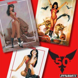 Just 4 Hours To Go!  Don't miss the #Vampirella @kickstarter!   http://bit.ly/2U6X4BBpic.twitter.com/N46ptWkEqo