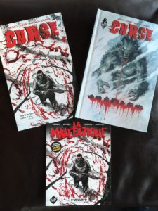 """Just received the Italian version of CURSE in the mail! Now you can get the """"moden werewolf story with a twist"""" in English, French, and Italian—which I think is pretty cool!pic.twitter.com/MSnthmdqkH"""